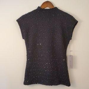🌵Jennifer Lopez City  beaded black blouse
